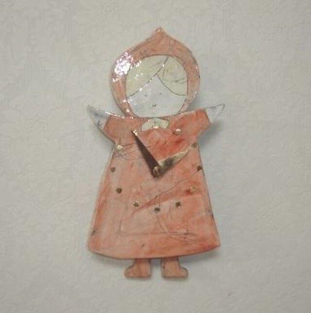 振り子時計 赤ずきんちゃんの画像1枚目