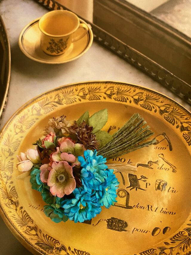 布花Small corsage gift series  Rococo color Bの画像1枚目