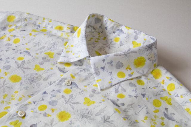 メンズシャツ / meadow flowersの画像1枚目