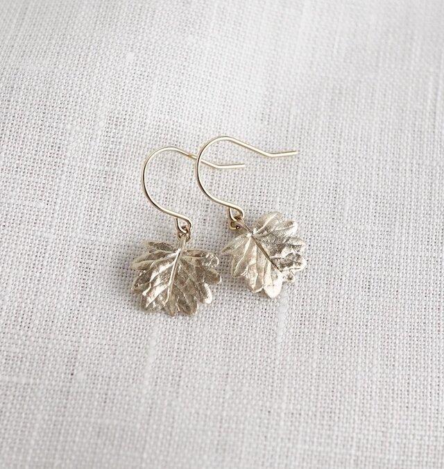 Barnet leaf earrings [EP068K10]の画像1枚目