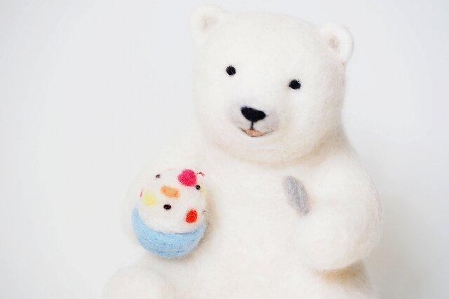 氷しろくまシロクマの画像1枚目