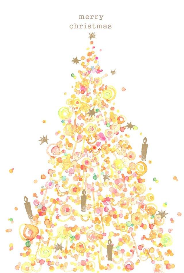 クリスマスカードの画像1枚目