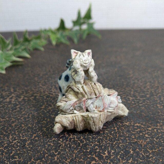 クロワッサンサンドとキジネコの画像1枚目