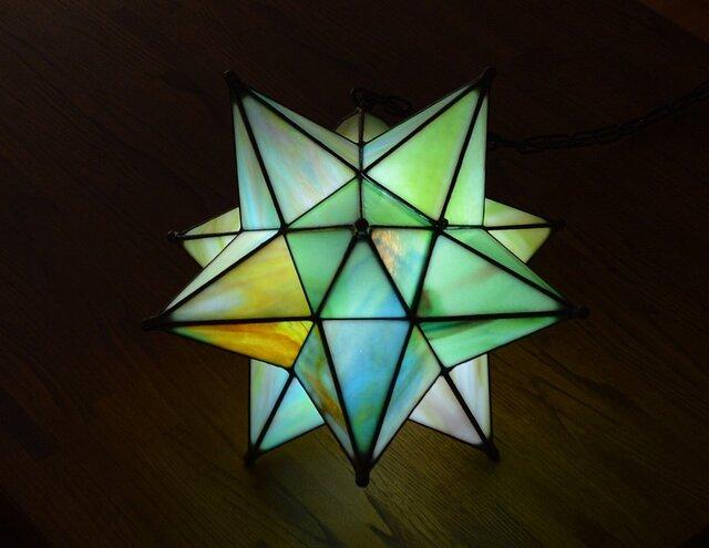 星のランプ マルチカラーの画像1枚目