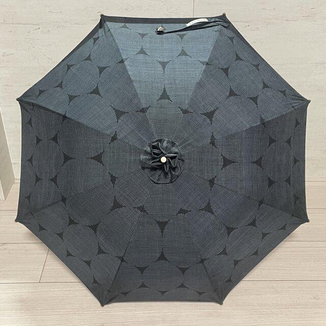 大島紬の日傘 大暑の画像1枚目