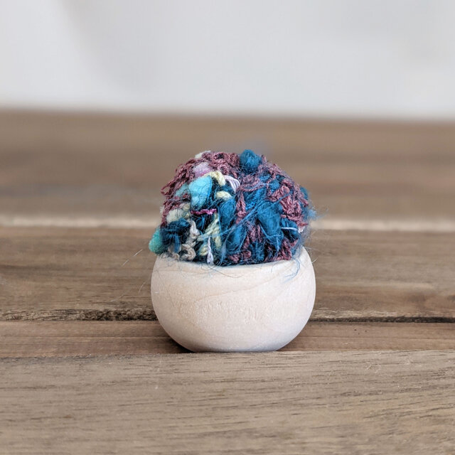 手織り たまこのちび針山の画像1枚目