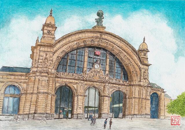 フランクフルト中央駅の画像1枚目