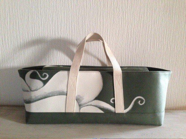 Tool box bag - Octopus/oliveの画像1枚目
