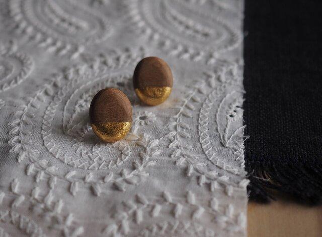 桜の木のピアス の画像1枚目