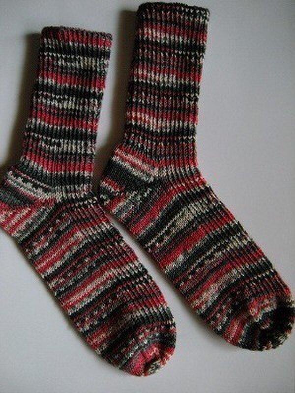 手編み靴下【Handwork & Hobby2 7123】の画像1枚目