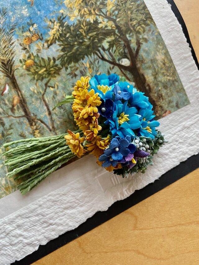 布花 Corsage petit bouquet Pの画像1枚目
