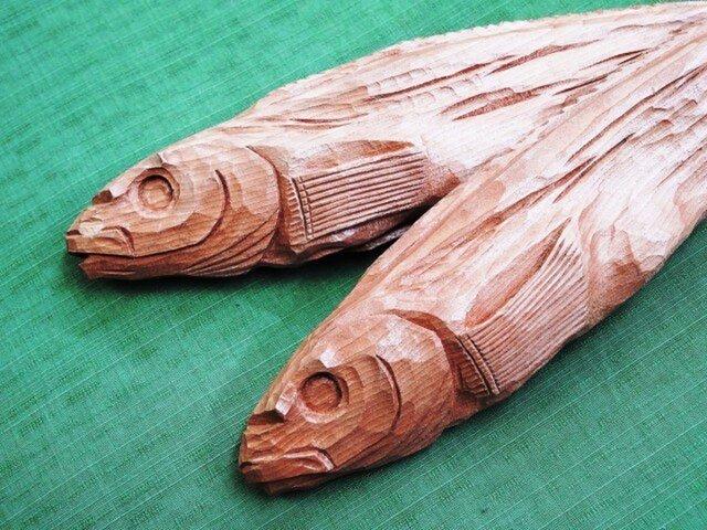 干物・真ホッケの素彫り(L・2本組)の画像1枚目