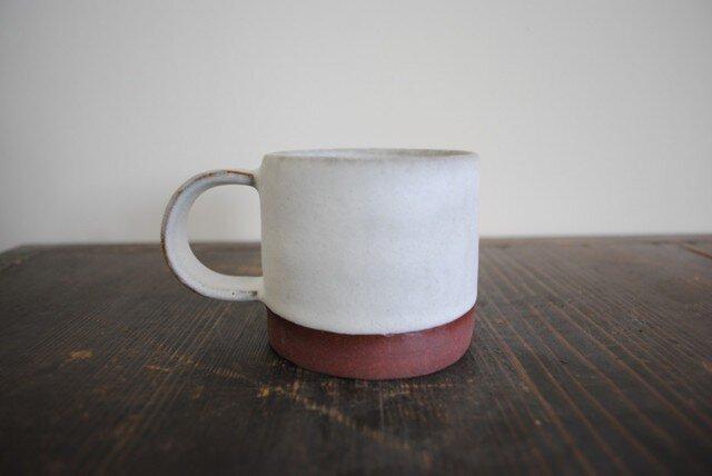 白釉 マグカップの画像1枚目