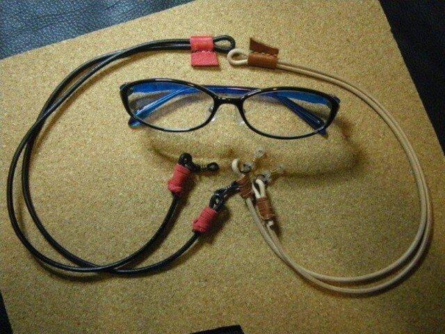 丸革メガネグラス ブラックの画像1枚目