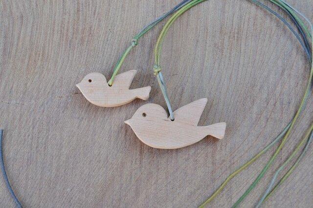 樹齢千年越♪ 小鳥の親子のペンダント♪ の画像1枚目