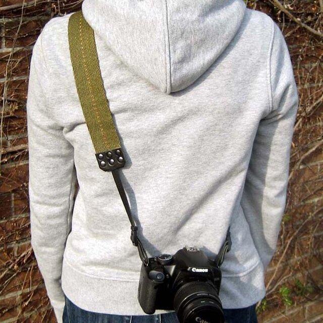 ミリタリー カメラストラップFranceの画像1枚目