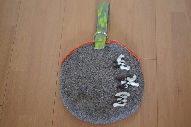 BUHIエッグBAG☆BUHI道(緑雲)の画像1枚目