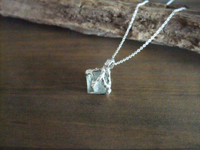 1点物★fluorite necklace(green*)の画像1枚目