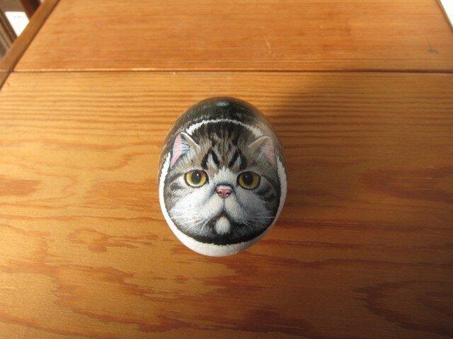 エキゾの石猫(Kさまオーダー品)受注品の画像1枚目