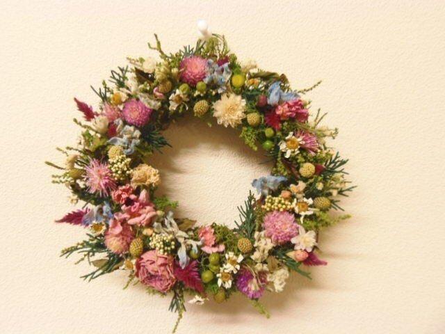 野の花のミニリースの画像1枚目