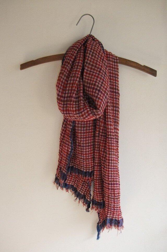 手織りストール12の画像1枚目