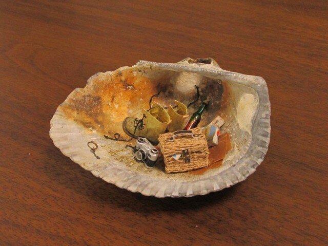 貝がら ミニチュア ピクニックの画像1枚目