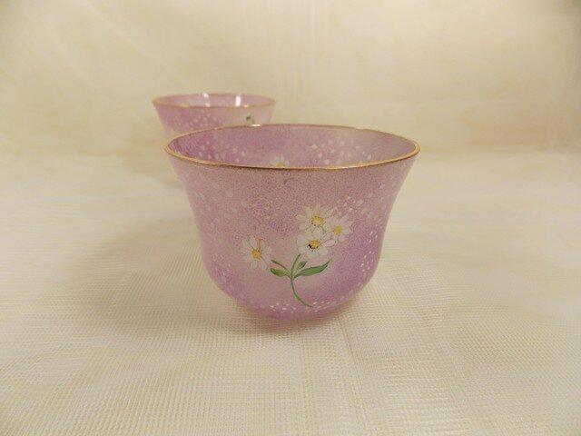 春色の冷茶グラスの画像1枚目
