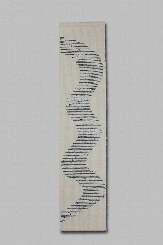 手織りタペストリー 大河Ⅱ の画像1枚目