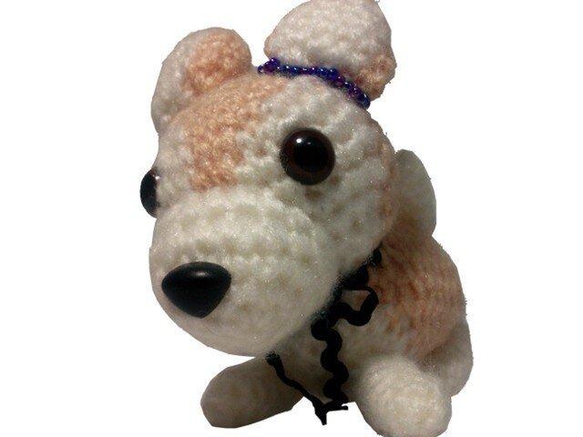 あなたのペットをあみぐるみに・手作り愛犬人形M004の画像1枚目