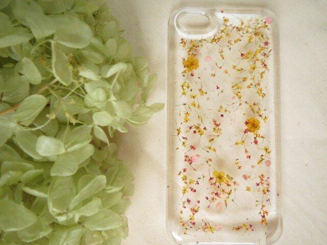 iPhone4S【フラワーガーデン】ピンク系の画像1枚目