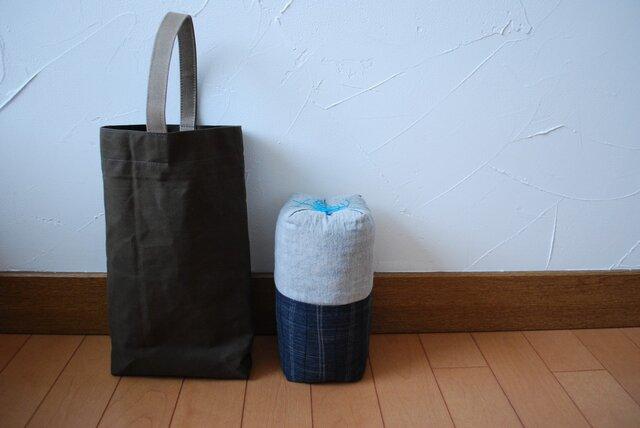 【チョイ寝枕+ハンプ鞄】5の画像1枚目