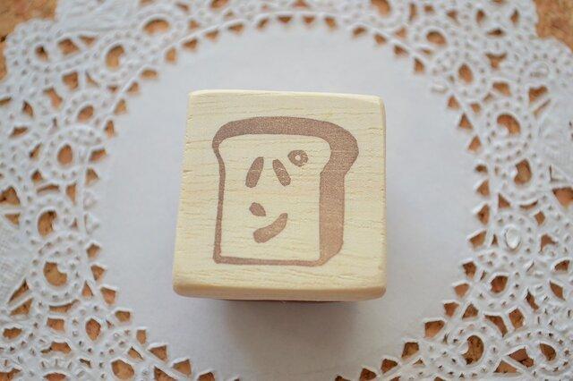 消しゴムはんこ*パンがすきの画像1枚目