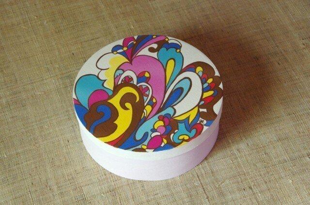 木製ペイントBOX(ピンク)の画像1枚目