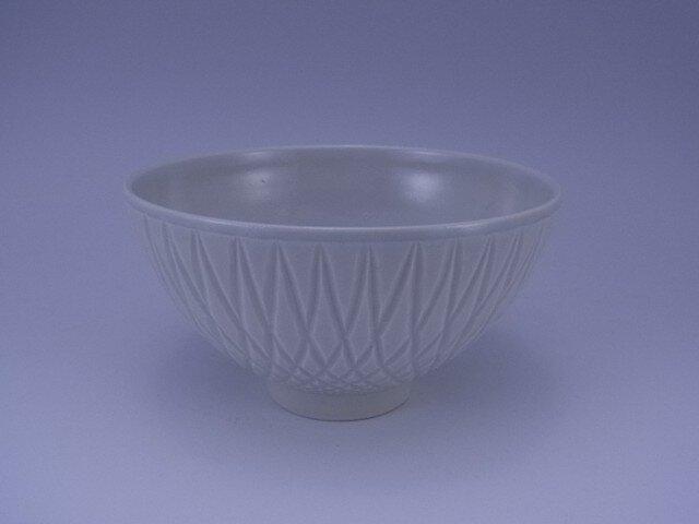 彫地紋茶碗の画像1枚目