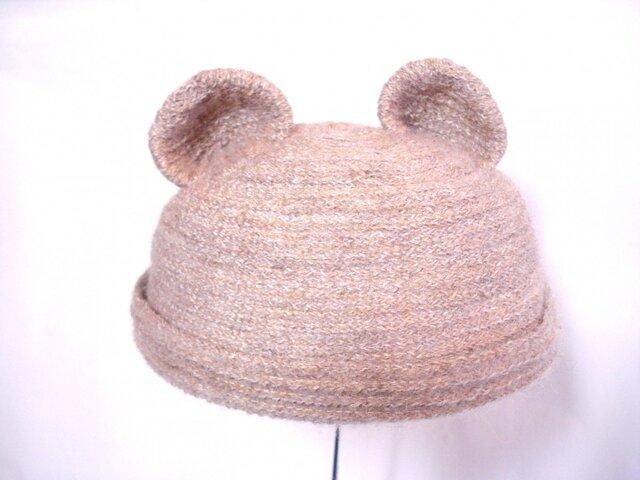 クマさんロール帽子の画像1枚目