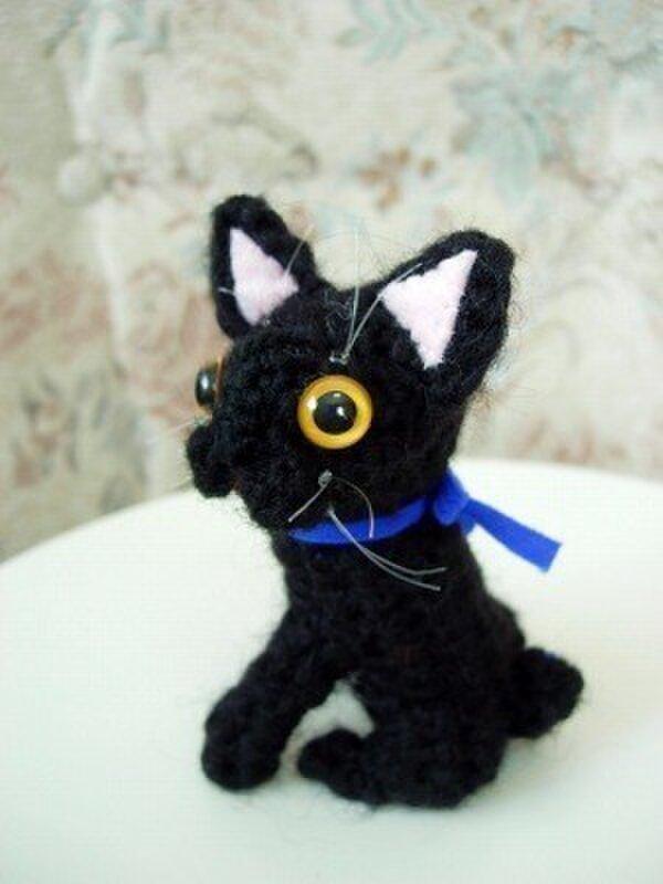 オーダーメイド猫あみぐるみの画像1枚目