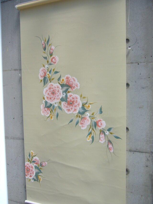 花のロールスクリーンの画像1枚目