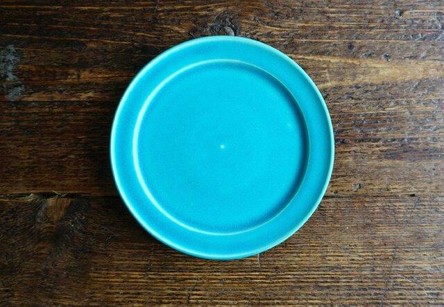 ブルーリム皿の画像1枚目