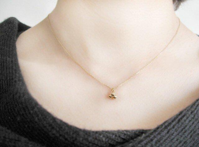 K18 Dewdrops ネックレスの画像1枚目