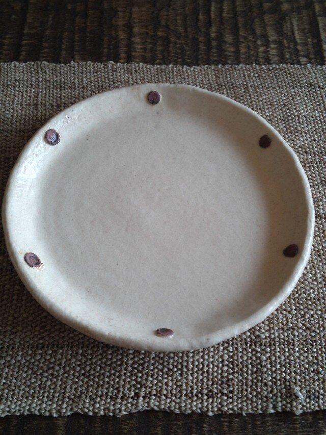 ドット お皿(小)取り置きの品の画像1枚目