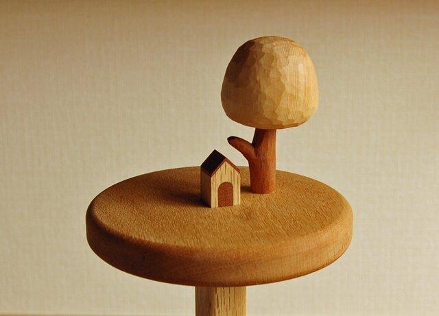 小さな犬小屋のキッチンペーパーホルダーの画像1枚目