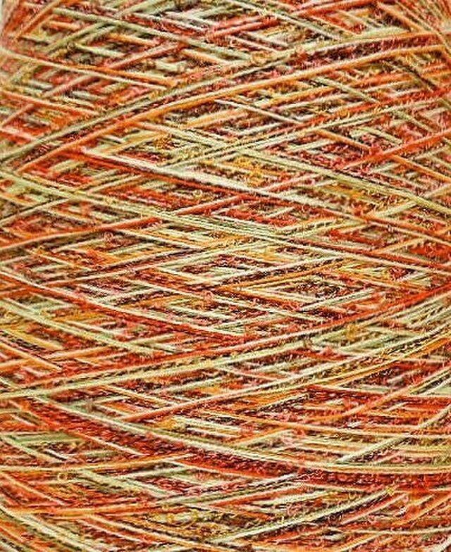 リングミックス糸 ミックスカラー 150 gの画像1枚目