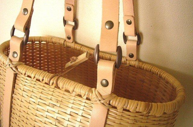 竹トートバッグ 「bamluxe tote」の画像1枚目