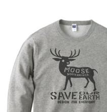 moose トレーナー【受注生産品】の画像1枚目