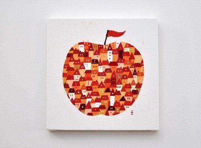 ファブリックパネル「りんご」の画像1枚目