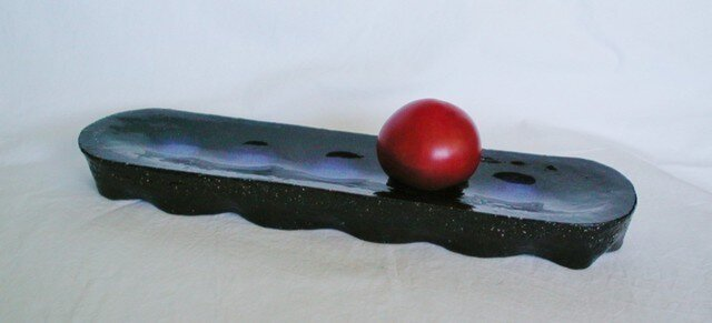 長楕円台皿(N-20)の画像1枚目
