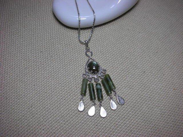 Silverエスニックネックレスの画像1枚目