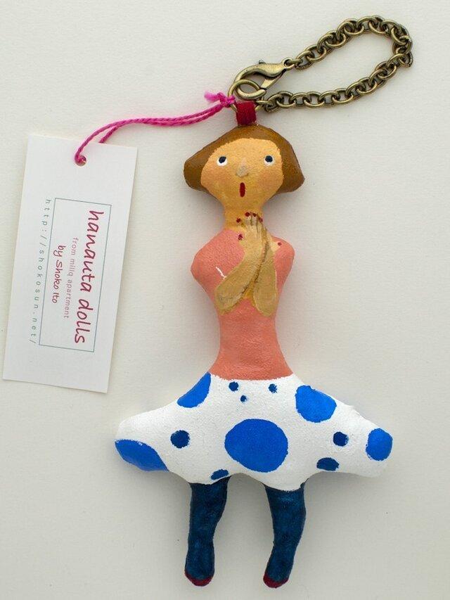 はなうた人形・ファニーフェイス「大きな水玉のスカート」の画像1枚目
