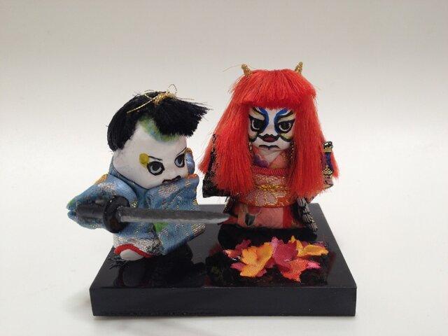 歌舞伎キューピー(紅葉狩)の画像1枚目