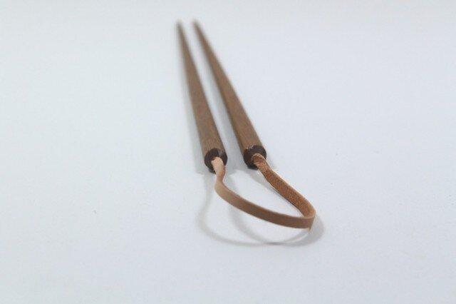 鉄木の菜箸の画像1枚目